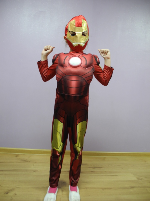 Iron man rozm. 122