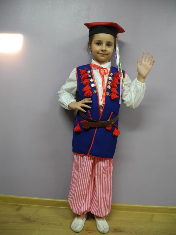 Krakowiak (strój ludowy) rozm 122, 128.140