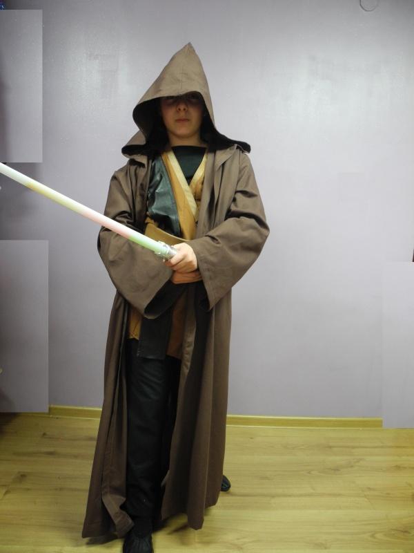 Rycerz Jedi Anakin Skywalker z płaszczem rozm. 150