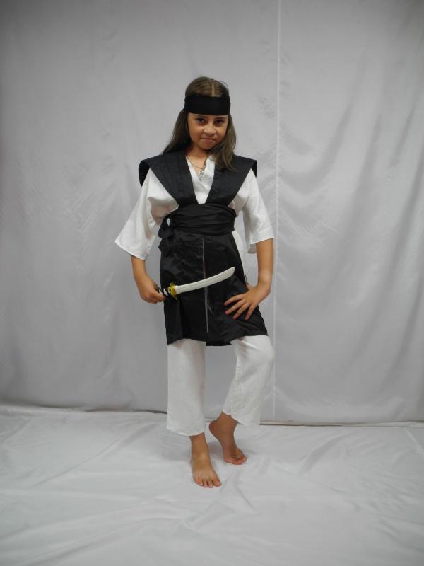 kimono strój wojownika rozm. 140