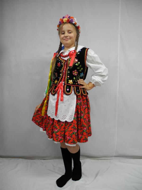Strój Krakowski rozm. 140 (1B)