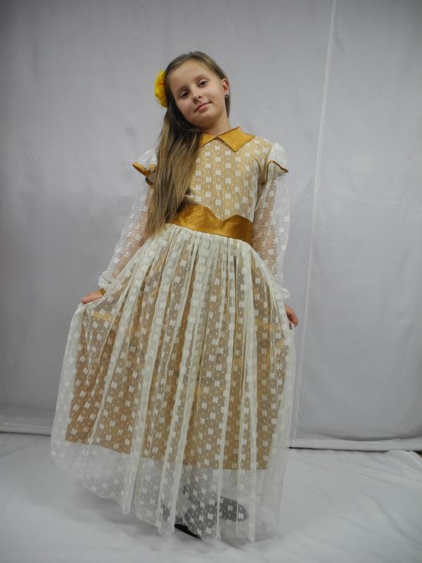 Sukienka na przedstawienia rozm. 145