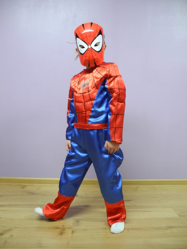 Spiderman rozm. 116, 122, 128, 136