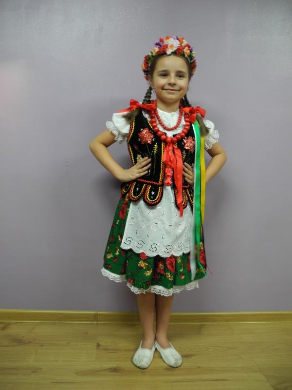 Krakowianka (strój ludowy)rozm.122,128